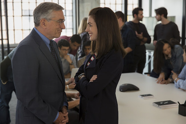 The Intern 2015 movie still robert de niro anne harthaway