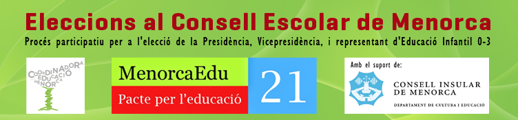 Eleccions al Consell Escolar de Menorca