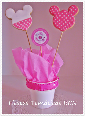 Piruletas Galletas Minnie