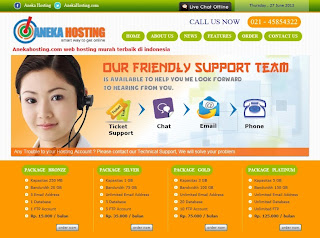 Anekahosting.com : Web Hosting Murah Terbaik di Indonesia