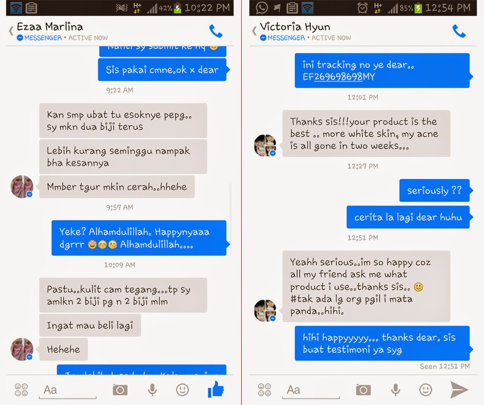 testimoni produk review