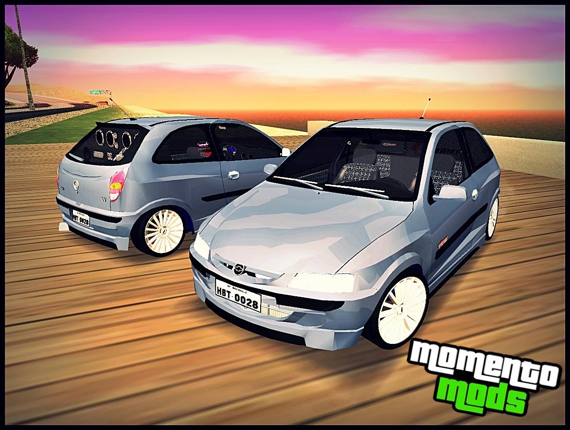 GTA SA - Chevrolet Celta Na Fixa + Som
