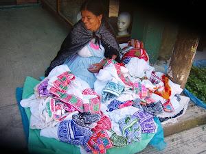 Artesanías y Bordados de Nauzontla Puebla