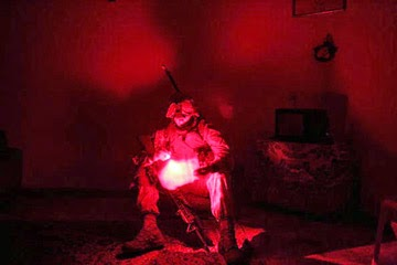 red light night vision