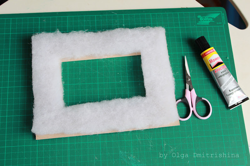 Рамки для фото своими руками из ткани