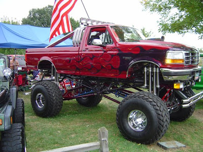 Big Ford Trucks