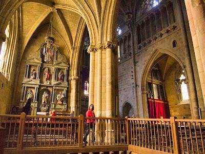 Interior de la Iglesia parroquial de San Salvador de Getaria