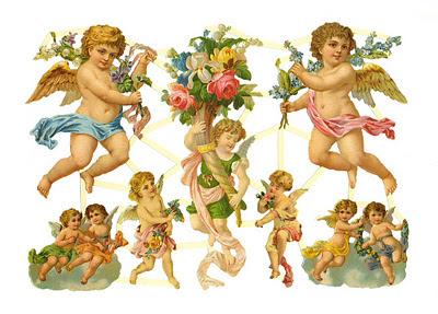 ángeles vintage cromos