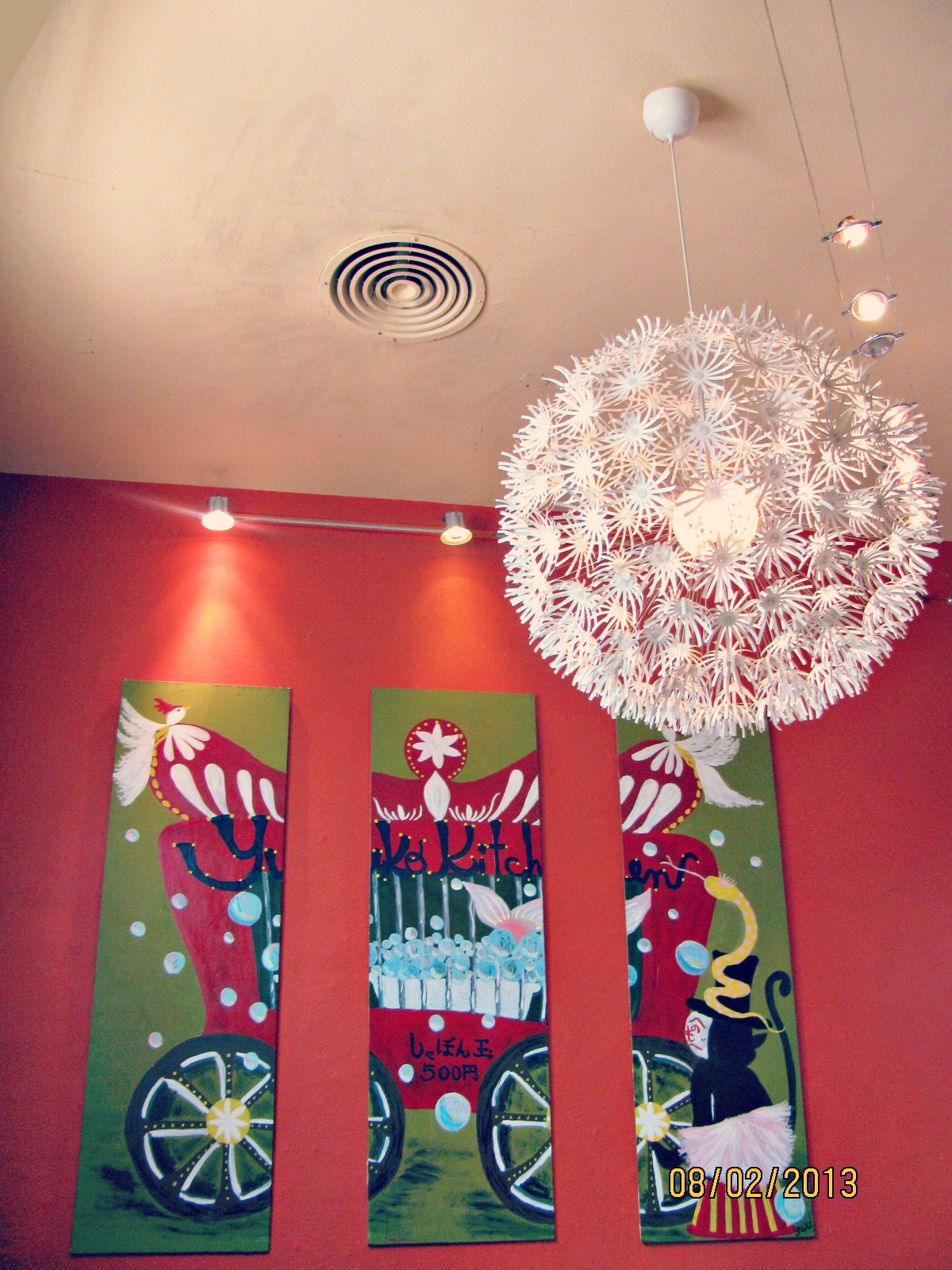 Yuko Kitchen Cafe // Interior Artwork