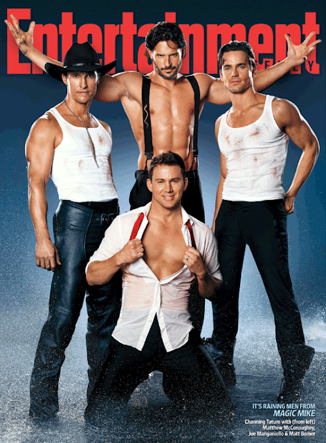 Magic Mike Cast (Entertainment Weekly)
