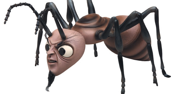 A toy based on <i>The Zanti Misfits</i> episode from <i>The Outer Limits</i> from 1963