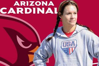 FÚTBOL AMERICANO (NFL 2015/2016) - La mujer Jen Welter estará al mando de los Arizona Cardinals