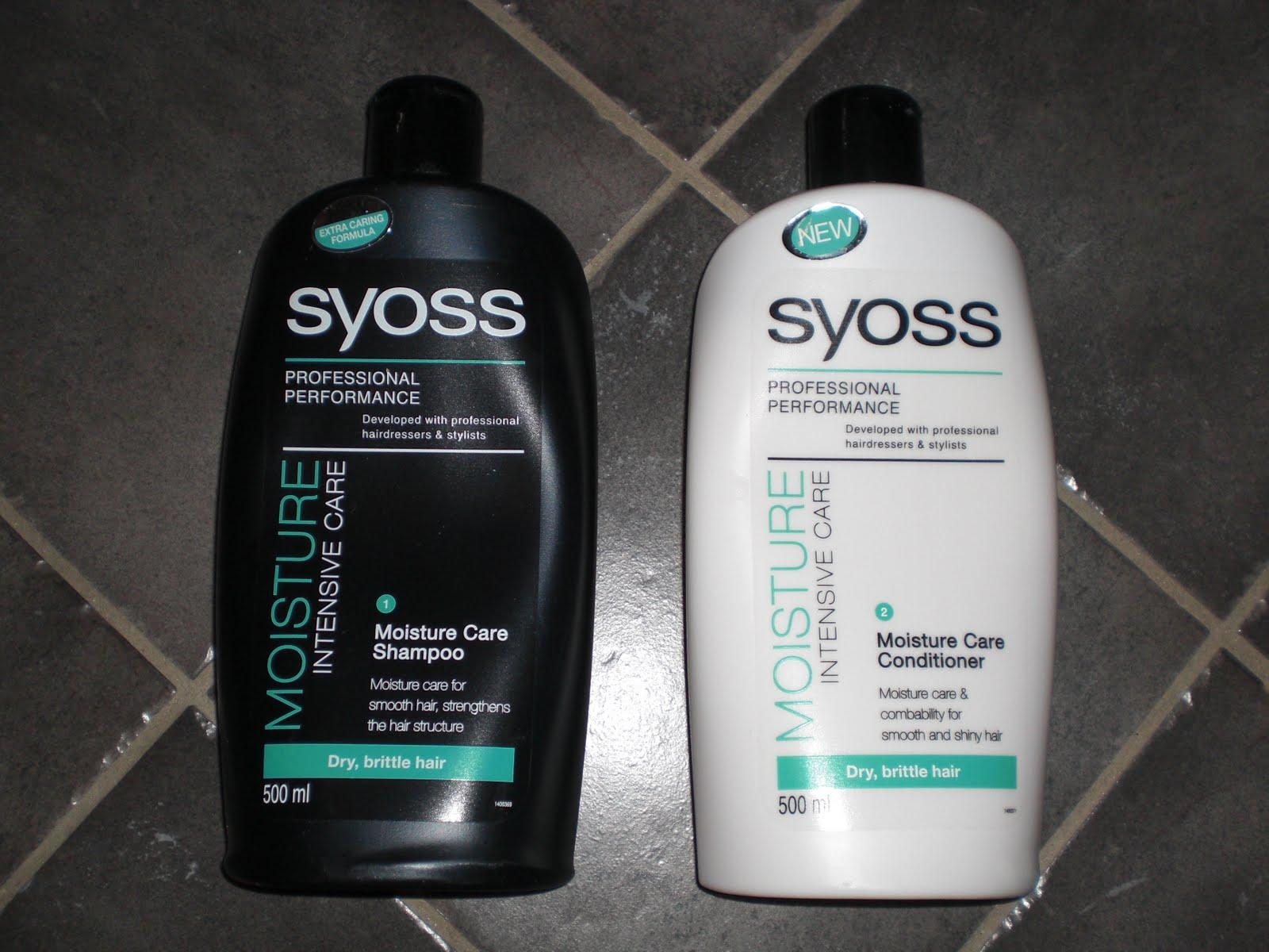 syoss shampoo och balsam