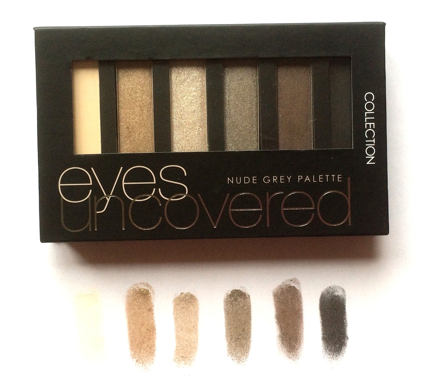 collection nude grey palette review