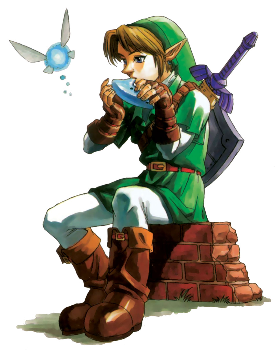 My childhood  The Legend Of Zelda  Ocarina Of Time       Zelda And Link Kiss Ocarina Of Time