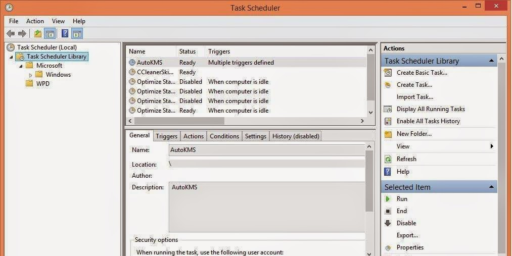 Cara Mematikan Fitur Automatic Maintenance Windows 8