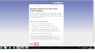 Cara Mendaftarkan Akun Blog di Feedburner