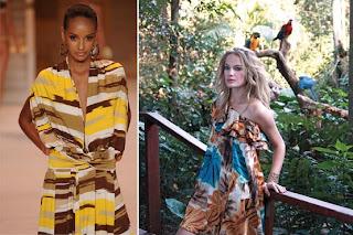 fotos e imagens de modeos de Vestidos Africanos
