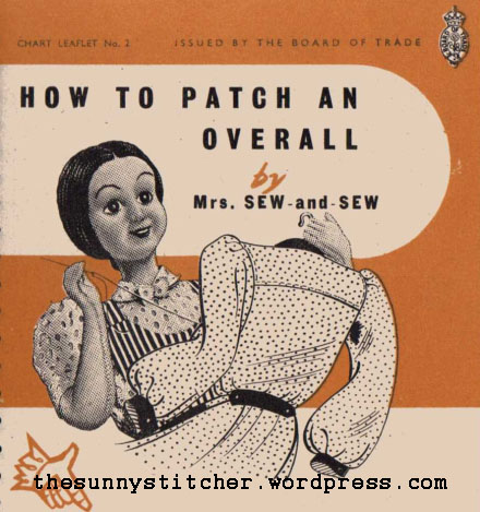 1940's Sewing - How To patch an Overall free pdf
