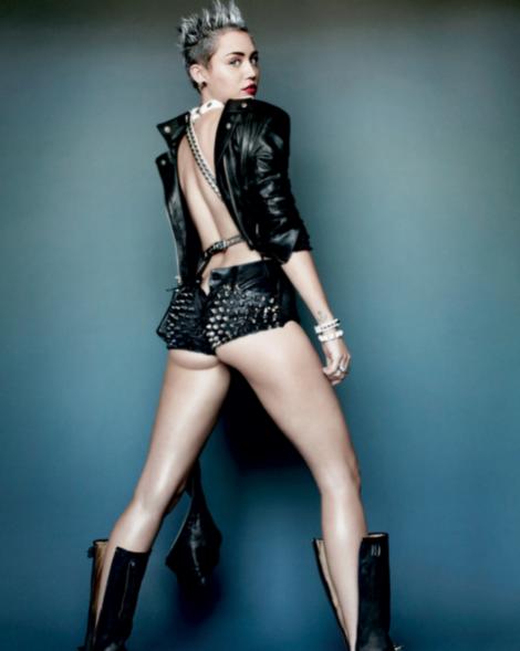 Miley Cyrus Ass V Magazine