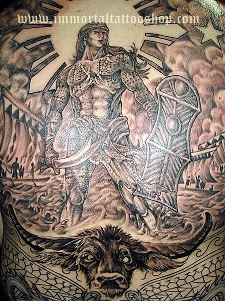 immortal tattoo manila philippines by frank ibanez jr filipino tattoo tribal tattoo. Black Bedroom Furniture Sets. Home Design Ideas