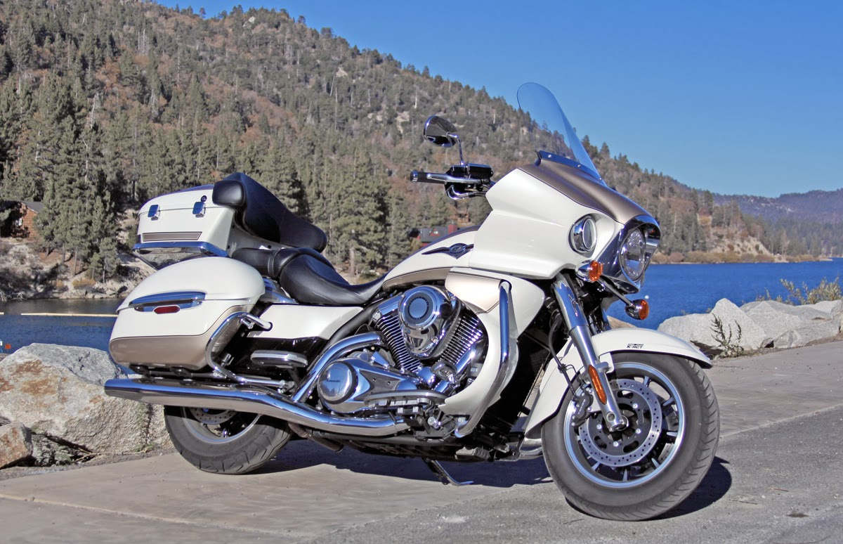 Kawasaki vn 1700 voyager latest Bikes