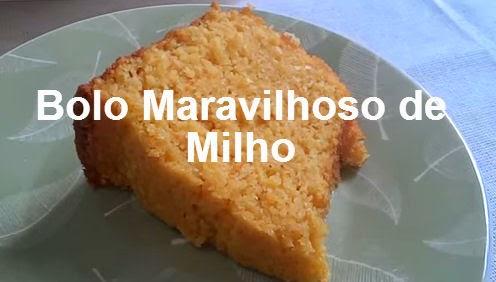 receita de bolo de milho, bolo de lata, bolo cremoso de milho, bolo de milho cremoso, milharina