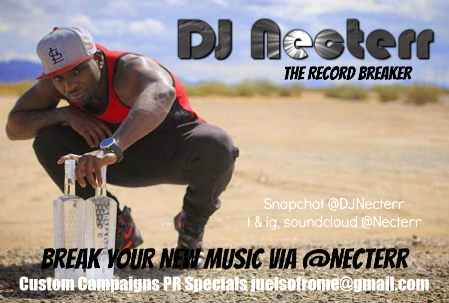 "DJ Necterr - ""The Record Breaker"""