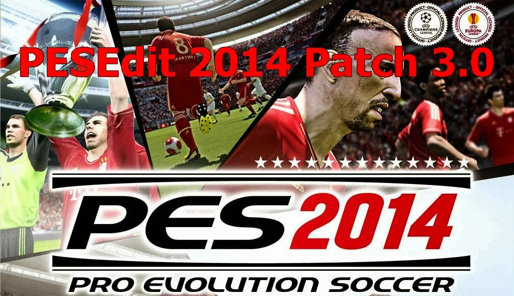 Latest Patch Download PES 2014 Patch 3.0