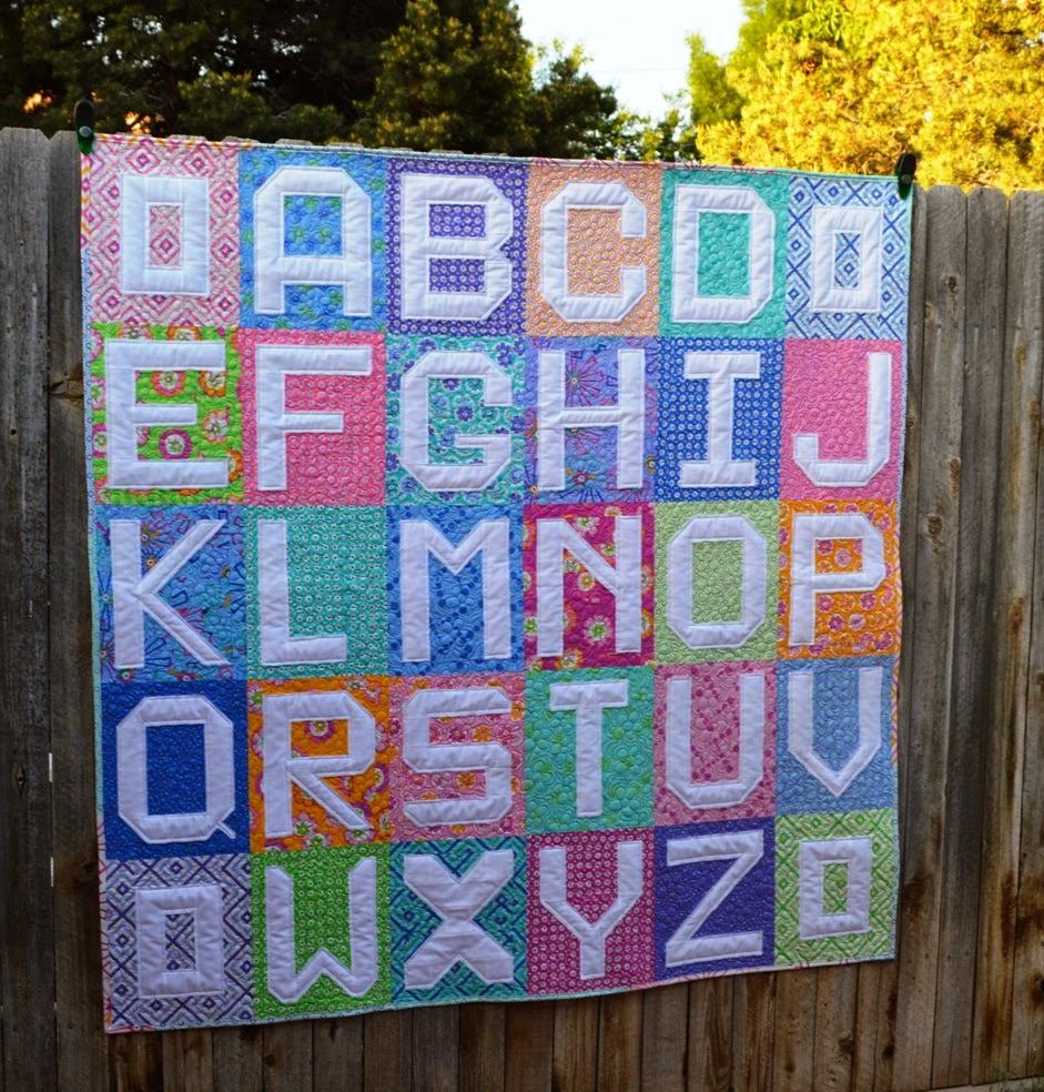 Happy Quilting: ABC Quilt Finish!! : abc quilt - Adamdwight.com