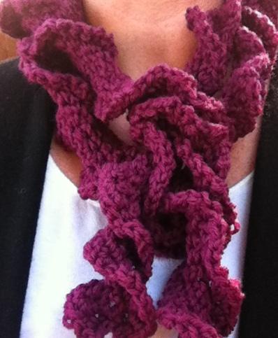Bumpy Popcorn Crochet Scarf Pattern – Eating Out Loud!