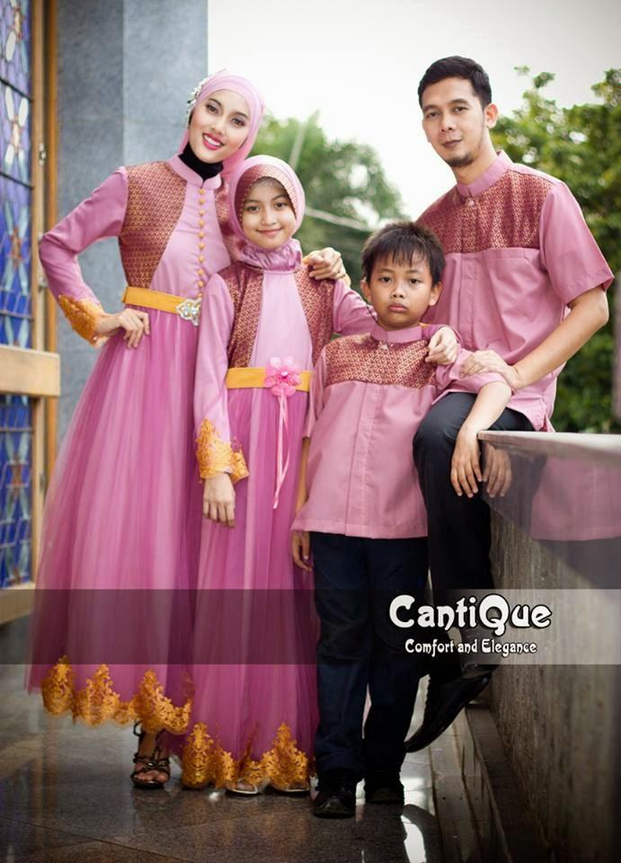10 Baju Muslim Couple Family 2 Anak Terbaru