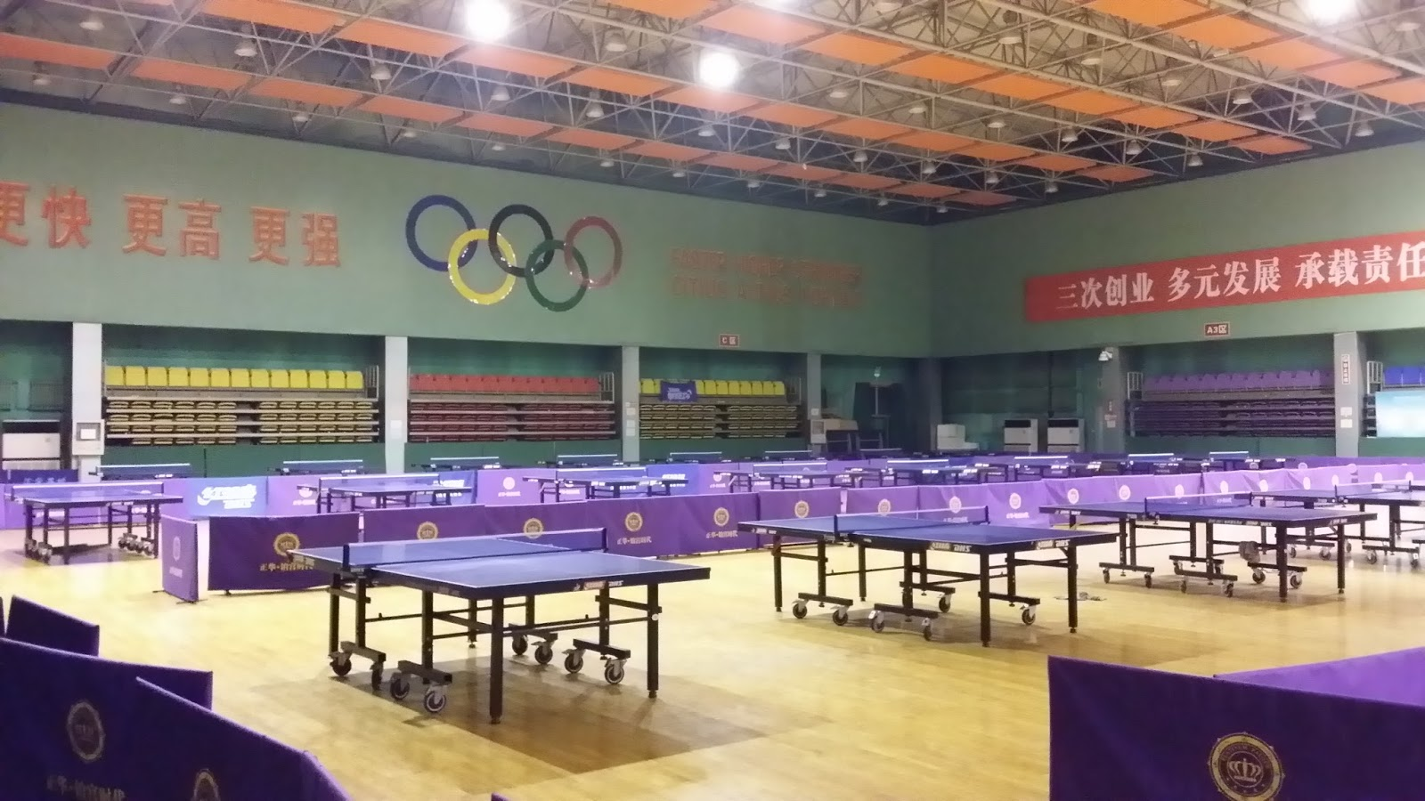MHTableTennis Training In China Zhengding Blog - Training table restaurant