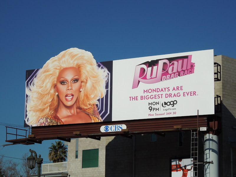 RuPaul's Drag Race 4 TV billboard