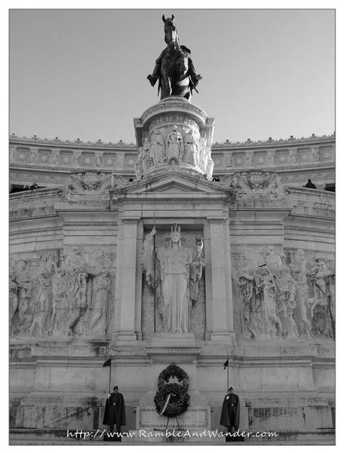 Monumento Vittorio Emanuele II, Rome, Italy