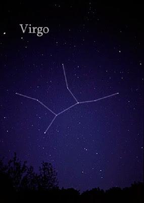Constelación de virgo
