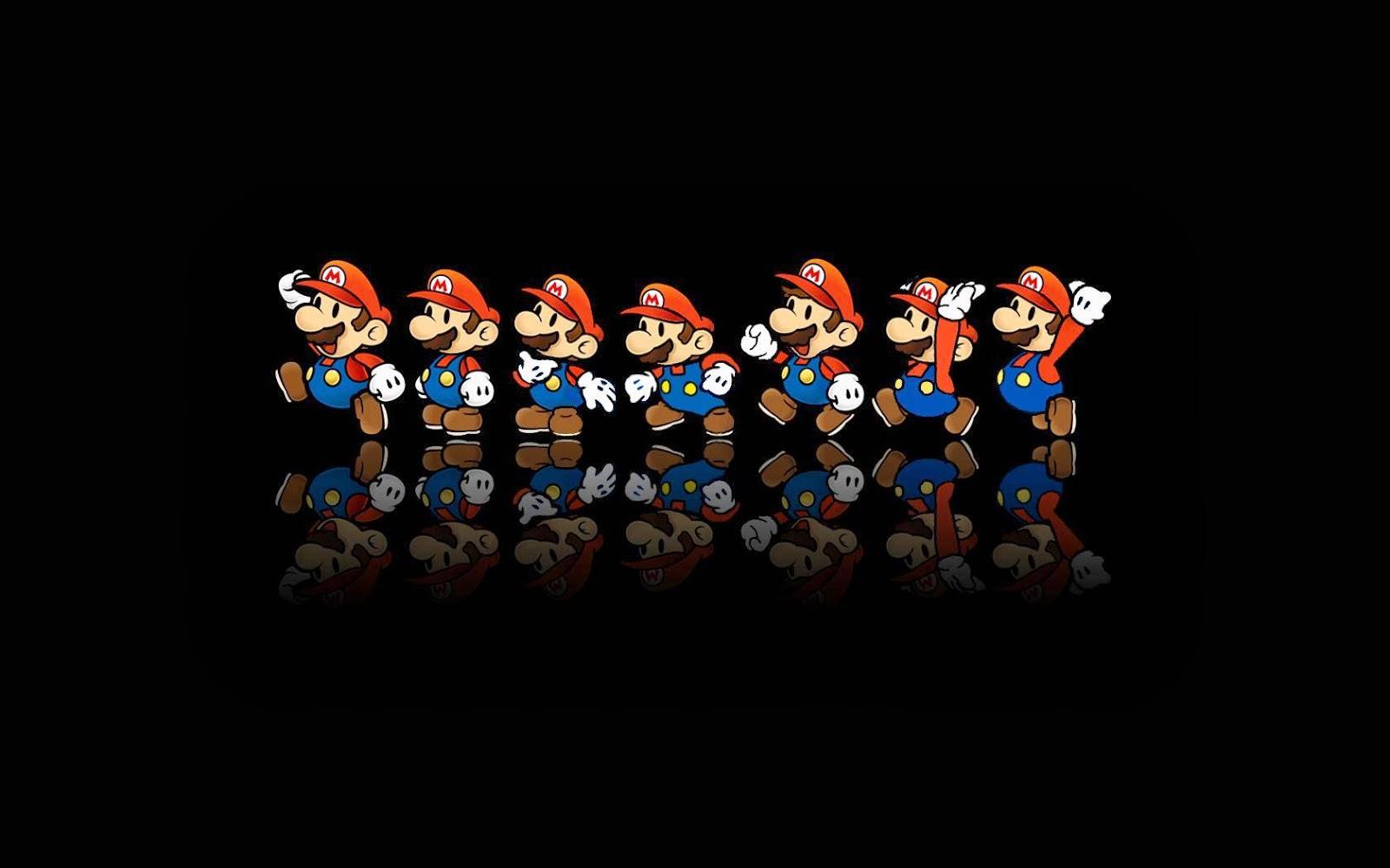 Fondo de Pantalla Abstracto Mario bros - imagenes