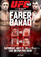 UFC 149 Results