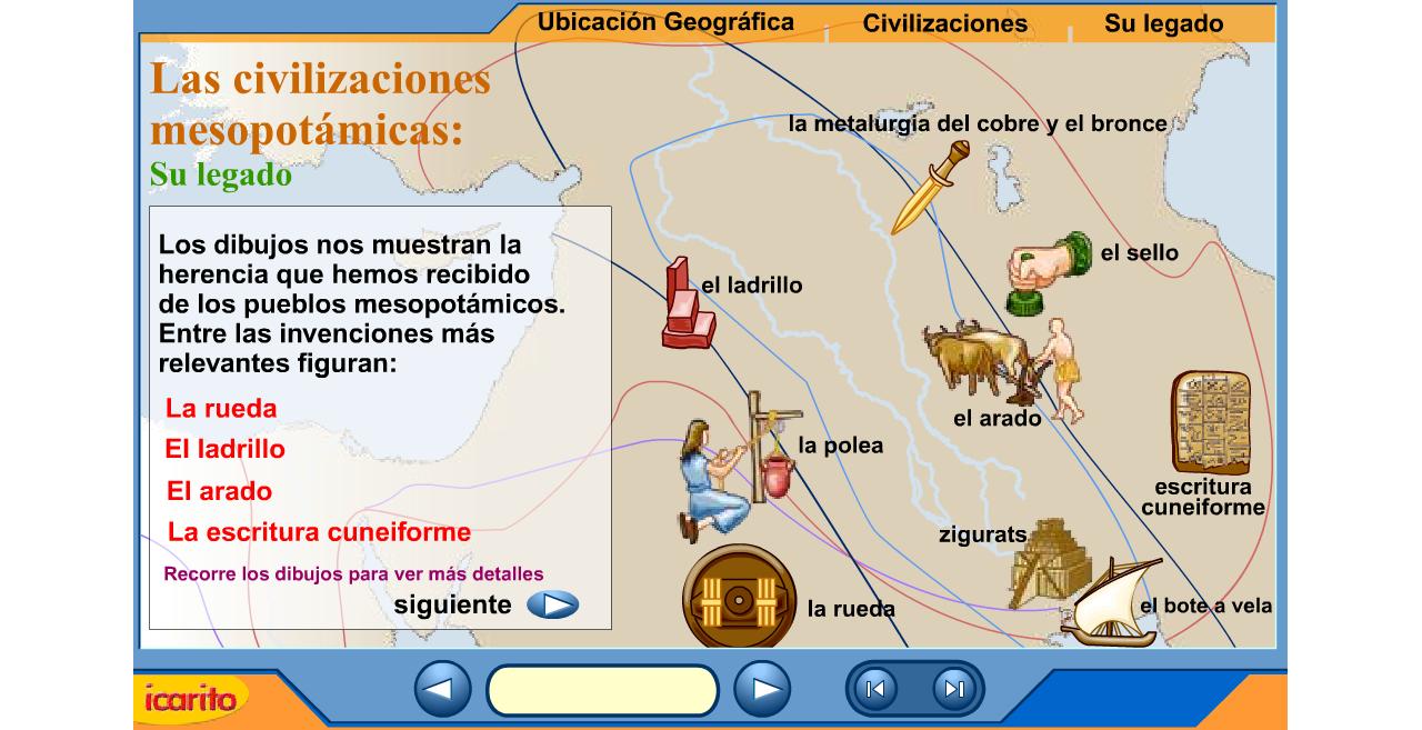 http://www.iesmariazambrano.org/Departamentos/flash-educativos/mesopotamia.swf