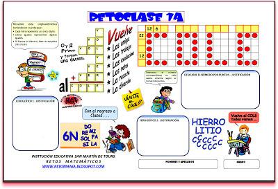 Retos matemáticos, Desafíos matemáticos, Problemas matemáticos, Criptoaritmética, Alfamética, Criptosumas, Jeroglíficos, Problemas matemáticos con Solución
