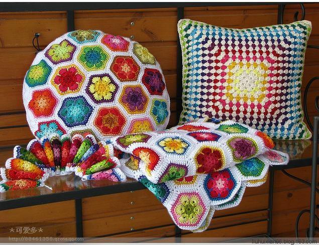 Crochet Patterns Ideas : ... : Crochet Home Decor Ideas-Interior Decorating with Crochet Items
