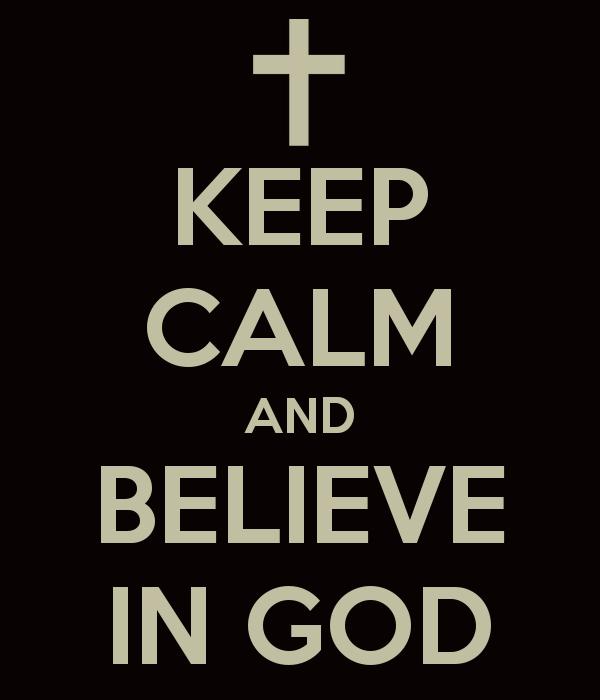 I believe in god essay