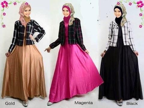 Trend Terbaru Baju Gamis Remaja Fashion Style 2015 Trend