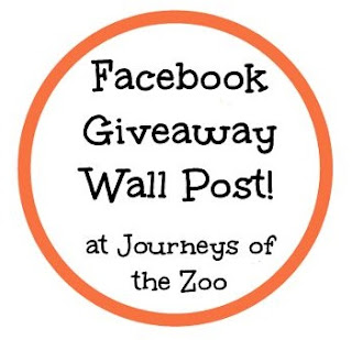 Journeys of The Zoo Facebook Wall Giveaway Logo