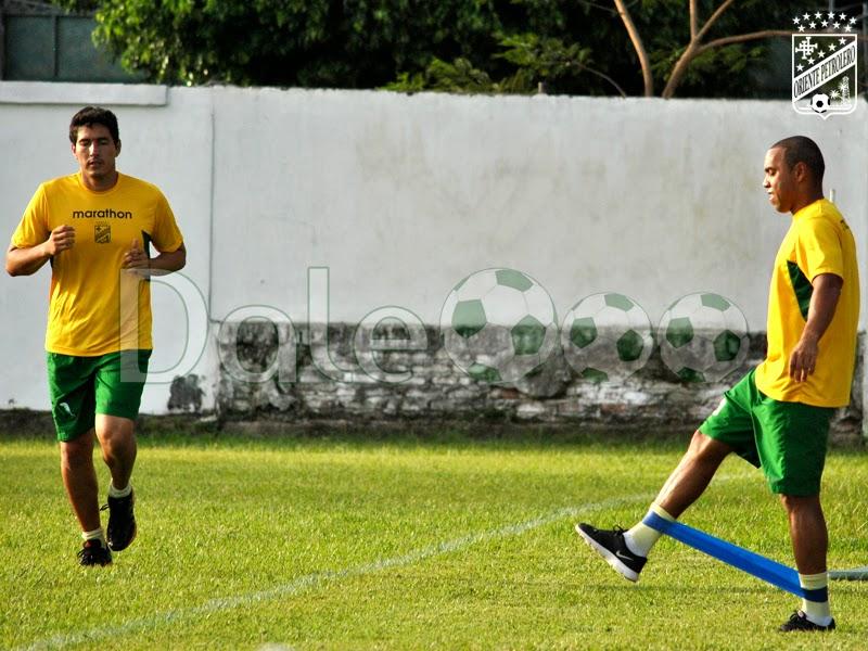 Oriente Petrolero - Carlos Arias - Thiago Dos Santos - DaleOoo.com sitio del Club Oriente Petrolero