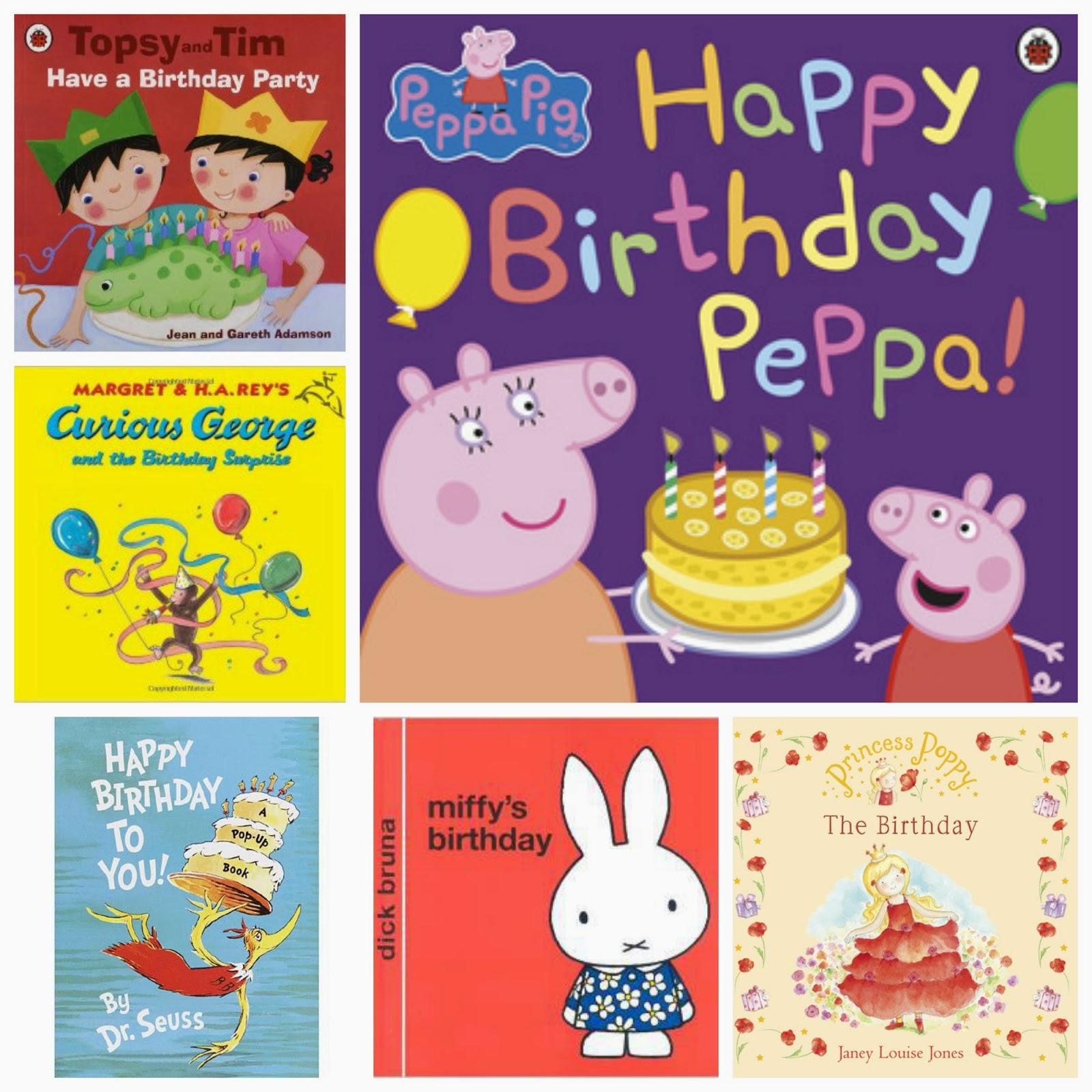 10 brilliant books for birthday boys and girls! | amazon | birthday books | happy birthday | ant and bee | peppa pig | koomins | belle and boo | birthday books | birthday stories | gift ideas | party books | kids books | sunday night book club | mamasVIB | maisy | miff | birthday | kids birthdays | boos for kids | gift ideas |
