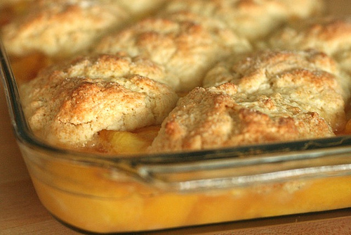 ... : It's Peach Season - Doylestown U-Pick & Peach Cobbler Recipe