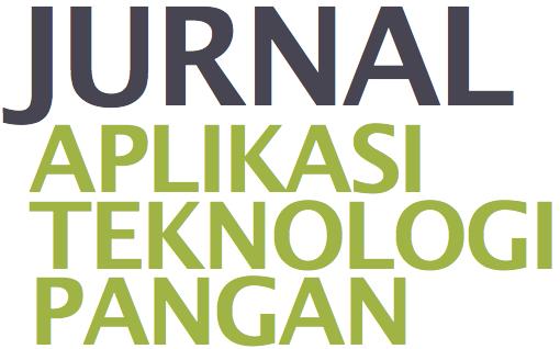 daftar isi jurnal aplikasi dan teknologi pangan vol 1 no