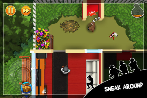 Robbery Bob iPhone Screenshot