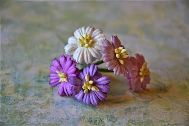 http://www.scrappasja.pl/p6515,kwiatki-papierowe-stokrotki-mix-biale-fioletowe.html